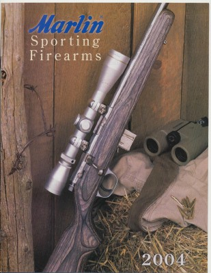 2004 Marlin Sporting Firearms Gun Catalog